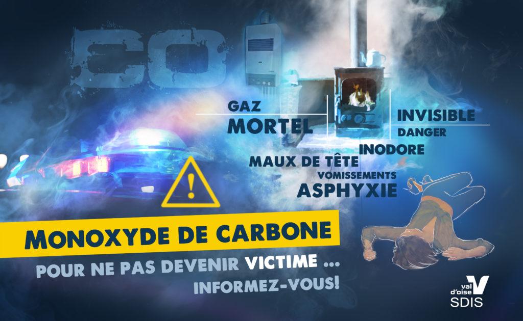 Le monoxyde de carbone est un danger mortel.